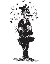 poli-con-moscas